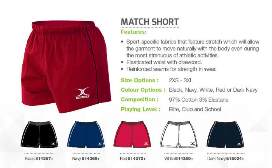 Gilbert Match Short