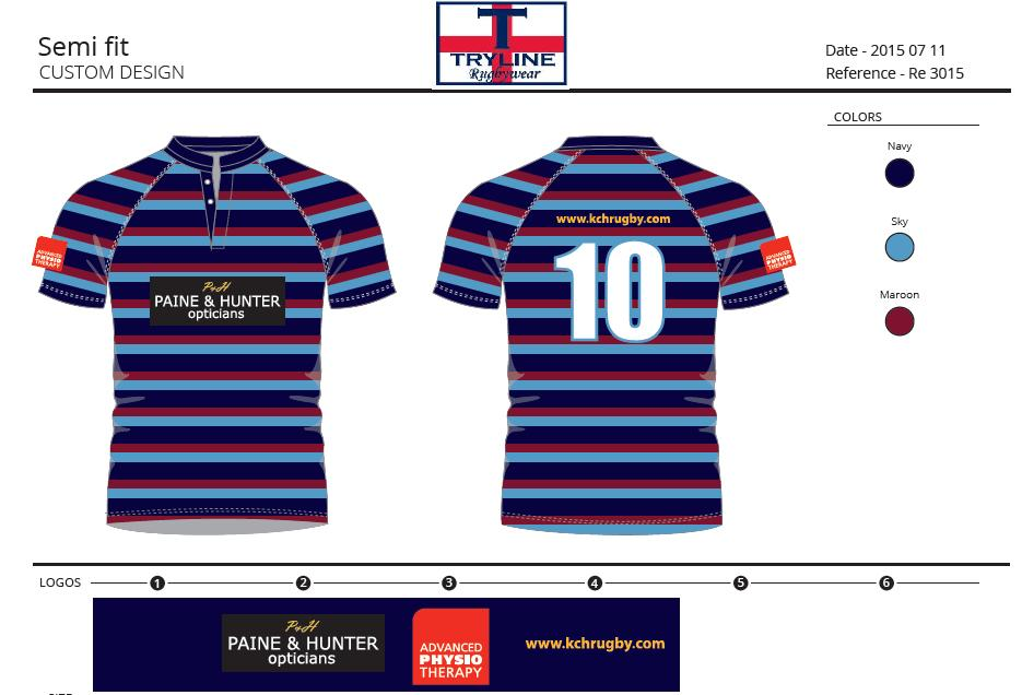 KCH RFC Semi Fitted