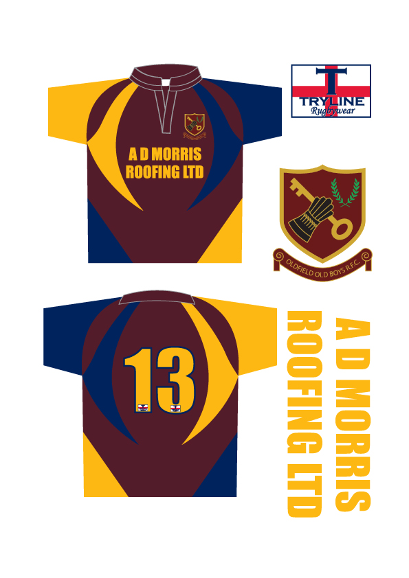Oldfield Old Boys RFC Micro Shirts