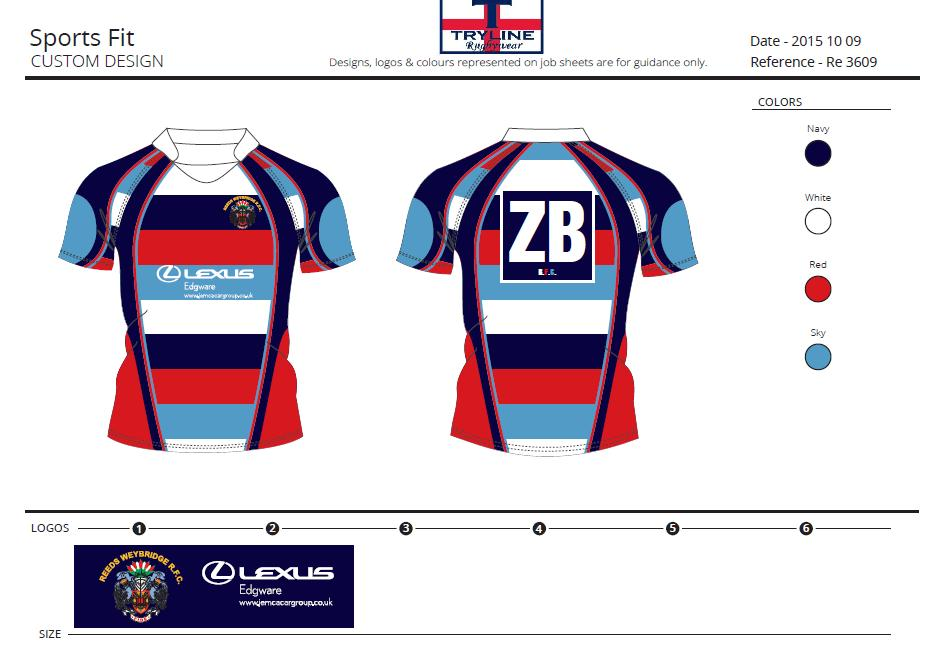 Reeds RFC TryTech Sports Fit